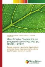 Identificação Fitoquímica de Syzygium cumini (GC-MS, LC-MS/MS, HPCCC) Es 4873