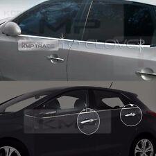 Chrome Window Accent Molding Door Catch Garnish 12P For HYUNDAI 08-12 i30 i30cw