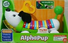 Leap Frog Alphabet Puppy Dog Alpha Pup Green Pull Along Fun Learn Abc Toddler