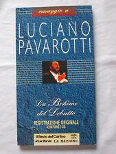 2 CD LUCIANO PAVAROTTI La Boheme del debutto Puccini Registrazione Originale