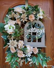 Spring/ Summer door wreath