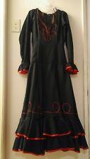Flamenco Fire dance dress