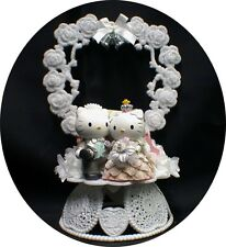 Daniel & Hello KITTY Wedding Cake Topper Cats Adorable LIMITED EDITION  cat pet