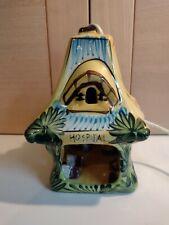 More details for vintage derek fowler studio limited rabbits hospital pottery nightlight signed
