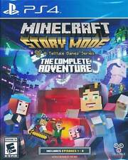 Minecraft Story Mode - The Complete Adventure PS4 Game Brand New Sealed