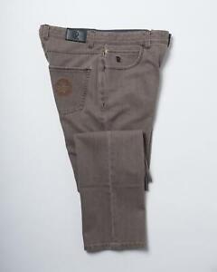 Stefano Ricci NWT Taupe Gray Stretch Denim Regular Fit Jeans 34 US 50 IT