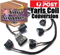 Ignition Conversion Tefzel Harness Yaris Coils Suits Nissan Skyline RB R32 GTR