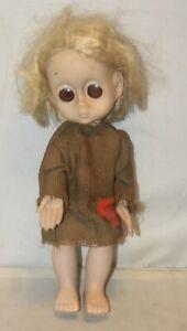 Vintage Little Miss No Name Doll 1965 Hasbro w/ Original Dress & Underwear