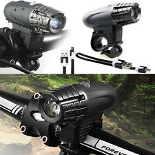 Waterproof USB Rechargeable LED Bicycle Headlight Flashlight Torch Lamp For Bike