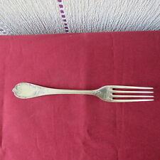 CHRISTOFLE france  ; fourchette de table en métal argenté modèle marly 1