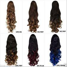 Extensions de cheveux violets sans marque pour femme