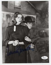 Lauren Bacall Hand Signed 8x10 Photo Classic Hollywood Pose Jsa