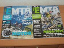 2 X bike EMTB Das Magazin für E-Mountainbiker 01/2018 & 02/2018 ungelesen!