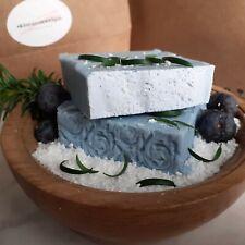 Sea Salt and Juniper Olive Oil natural handmade soap