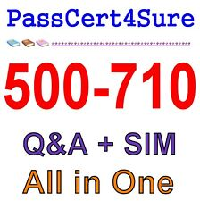 Cisco Video Infrastructure Implementation (VII) 500-710 Exam QA PDF+SIM