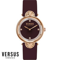 Versus by Versace VSP331518 Victoria Harbour roségold braun Leder Damen Uhr NEU