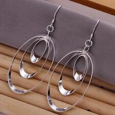 Wholesale 925 Silver Earrings Charm Women Fashion Jewelry Party Gift