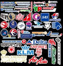 Airliner Stickers Vinyl Skateboard Guitar Travel Case sticker pack decals AU