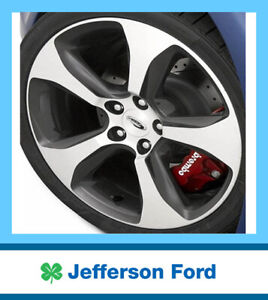 "Genuine Ford GTP / Super Pursuit 19""x8 Alloy Wheel FG FPV 2008-2011 w/ Caps Set"