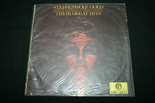 """STEPPENWOLF   LP 33T 12""""      GOLD / THEIR GREAT HITS   RARE CHINA PRESS"""