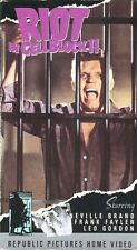 Riot in Cell Block 11 - Neville Brand, Leo Gordon VHS - Very Rare & OOP NEW!