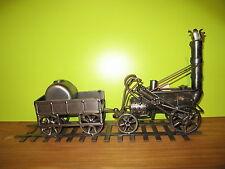 HINZ & KUNST *NEW* Sujet en fer Train L.40cm