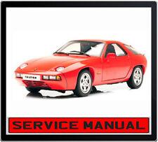 PORSCHE 928 928S 928S4 928GT 928GTS 1978-1995 SERVICE REPAIR MANUAL IN DVD