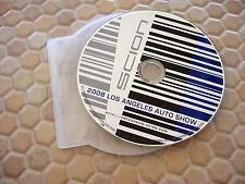 SCION OFFICIAL tC xB xD PRESS KIT CD ROM LOS ANGELES AUTOSHOW 2009 USA EDITION