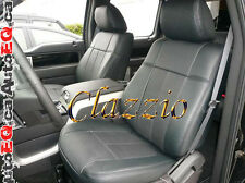 2013-2014 FORD F150 SUPER CREW   CLAZZIO LEATHER SEAT COVER (1ST+2ND ROW SEAT)