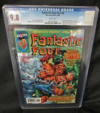 Fantastic Four #435 V3 #6 She-Hulk/Luke Cage (1998)  CGC 9.8 V569