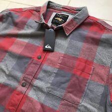 Quiksilver L/S Heavyweight Cotton Plaid Lumberjack Shirt (XXL, Surfing, BNWT)
