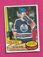 1980-81 OPC  # 87 OILERS WAYNE GRETZKY ALL STAR EX CARD (INV# D1870)