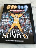 Any Given Sunday Pacino, Diaz, Quaid, Woods, Foxx & LL Cool J  Special Ed DVD