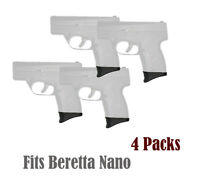 Pack of 4 Grip Extensions Fits Beretta Nano (Beretta Nano/ 4PCS)