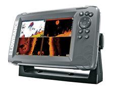 Lowrance Hook2 7x TripleShot Sonar/GPS Combo w/Transducer 3-in-1 Side/Down Scan