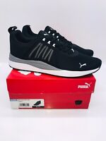 Puma Men's Pacer Net Cage Athletic Running Sneakers - Black / Grey / White