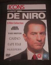 Robert De Niro 5 Movie Collection Dvd Box set   Mean Streets Taxi Driver Etc