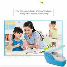 Stapleless Stapler Paper Portable School Office Supply Staple-Free New D1S5