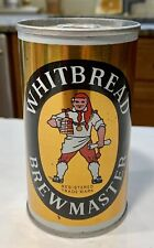 New listing Nice Vintage beer can Whitbread Brewmaster England- Straight Steel (empty)