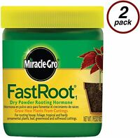 Rooting Powder Hormone Fast 1.25 Oz 2 Pack Houseplant and Succulent Propagation