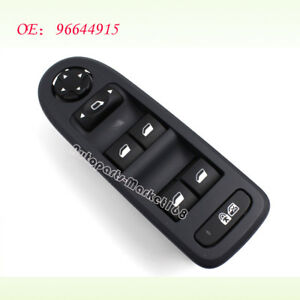 96644915 For Peugeot 308 5 Door Hatchback Wagon 08-13 Power Master Window Switch