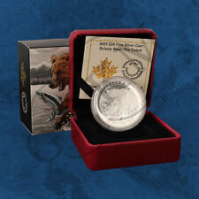 Canada - Grizzly - the Catch - 20 $2015 Pf - Silver