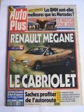 revue auto plus n°407 de 1996: toyota rav 4,peugeot 106 rallye,alfa romeo 155,..