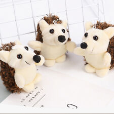 1Pcs Cute Plush Hedgehog 7Cm Small Pendant Mini Soft Stuffed Animal Toy Sm