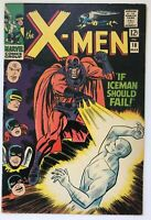 The X-Men #18 - Magneto Cover Iceman Falls Cyclops Marvel Comics FN