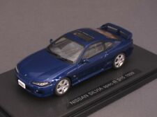 1/43 EBBRO Nissan Silvia spec-R s15 1999 azul - 44614