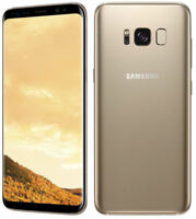 "Samsung Galaxy S8 SM-G950U 64GB Gold 5.8"" Android (Unlocked) Smartphone Latest"