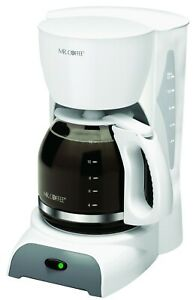 Mr Coffee 12 Cup DW12 Coffee Maker with Switch