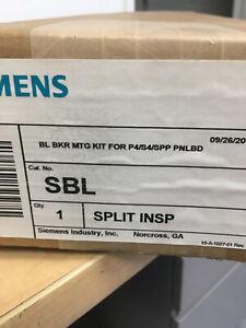 SBL Siemens mounting hardware split new