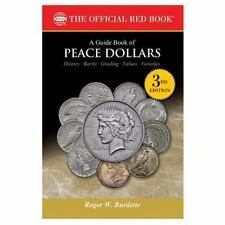 A Guide Book of Peace Dollars 3rd Edition~1921-1935~Proofs~Patterns~Errors~NEW